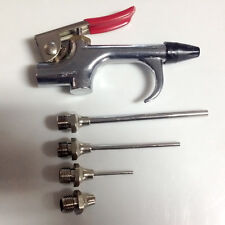 Neu Druckluft Werkzeug Set Ausblaspistole Druckluftpistole Pressluft Blaspistole