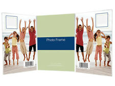 Bent Acrylic Picture Frame 3-1/2x5 Triple Vertical (Same Shipping Any Qty)