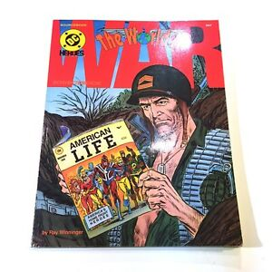 Mayfair Games - DC Heroes RPG Game - The World At War - Sourcebook 257
