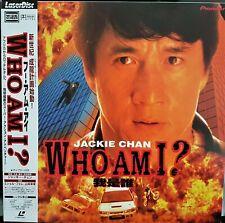 Who Am I? JACKIE CHAN Japanese Laserdisc PILF-2820