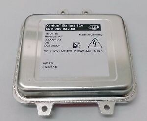 Hella 5DV 009 932-00 Xenon Xenius Ballast Opel Porsche Cayenne D3S ECU