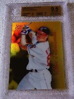JIM EDMONDS 1996 SELECT CERTIFIED MIRROR GOLD #75 ONLY 30 PRODUCED BGS 9.5 POP 1