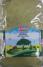 500g GAMA HENNA POWDER ( Hair colouring ) Best Quality