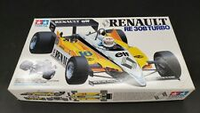 First Tamiya 1/20 Renault RE30B Turbo Plastic Model Kit Out of print Rare  J10