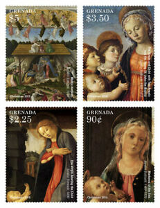 Grenada - 2015 - Christmas 2015 - Set Of 4 Stamps - MNH