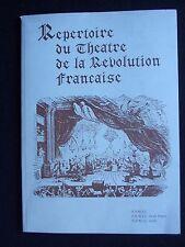 Repertoire du théâtre de la révolution française, Franck Lepage. F.FM.J.C