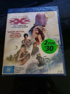 XXX RETURN OF XANDER CAGE BLU RAY - NEW & SEALED VIN DIESEL, RUBY ROSE FREE POST