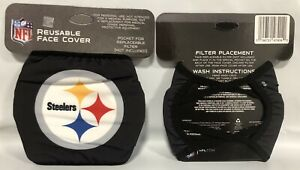 Pittsburgh Steelers Team Logo NFL Football Face Mask Cover by Foco  FREE SHIP