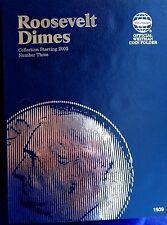 Whitman Roosevelt Dime #3 Starting 2005 Coin Folder, Album Book #1939