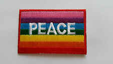 ANTI-WAR CND HIPPIE PEACE SEW ON / IRON ON PATCH:- NAME TO FOLLOW NUMBER 0048
