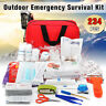 234Pcs Upgraded Emergency Survival Kit Outdoor Sports Tactical Hiking