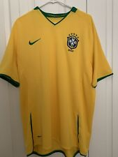 Authentic Nike Brasil Soccer 2010 Home Jersey Xl Mens In Mint Condition.
