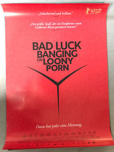 Bad Luck Banging Or Loony Porn - Kinoplakat Poster Filmplakat A1