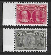 ETATS-UNIS 1893 - YT 95 SCOTT 244/245 - ISABELLA AND COLUMBUS - FAKES
