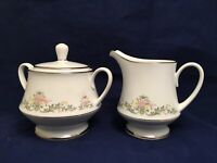 Early Spring by Noritake Sugar Bowl with Lid And Creamer Set