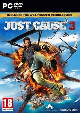 Just Cause 3 Day 1 Edition (PC DVD) NEW & Sealed - Despatched from UK