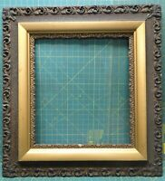 "Antique Wood Gilt Gesso Oak Gold Picture Frame 29½"" x 27¼"" for 19¼"" x 17¼"" Photo"