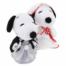 SNOOPY&BELLE Wedding Dolls Plush (3inch) Japanese kimono style
