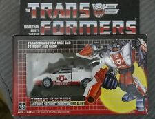 Transformers G1 Re-issue Red Alert Action Figure Brand NEW COLLECTION MISB