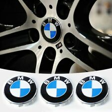 BMW Genuine Chrome Ring Wheel Center hub Cap OEM NEW 36136783536