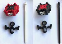 Beyblade Burst LR Launcher Beyblade Burst Left Right Launcher Black Red LR