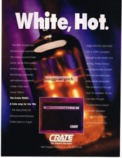 1991 Crate Tube Amplifiers Amps Magazine Ad