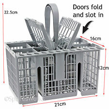 Cutlery Basket for HOTPOINT FDEF33121G FDEF33121P FDL570X.R Dishwasher Grey