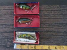 3 Vintage Shakespeare Fishing Lures Free S&H