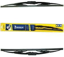 """Michelin Rainforce Traditional Wiper Blades Pair 20""""x2 For BMW 3 1982-94"""