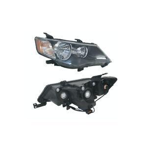 Headlight Right for Mitsubishi Outlander ZG 11/2006-07/2009