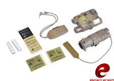 Element PEQ-15 LA-5 Red Laser M3X Illumination Combat Kit (Dark Earth) EX423-DE
