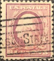 Scott #501 US 1917 3c Washington Perf 11 Postage Stamp VF