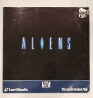 Aliens Widescreen Edition Used Double Laser Disc Horror
