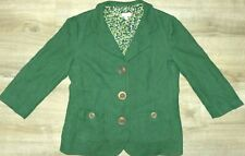 Cute A Pea In The Pod Size Large Maternity Dark Green Button Jacket Suit Coat