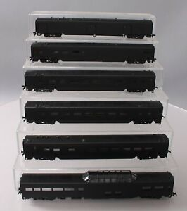 Assorted HO Scale Undecorated Passenger Cars [6] EX