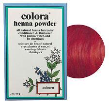 Colora Henna Powder All Natural Hair Color 60g Auburn
