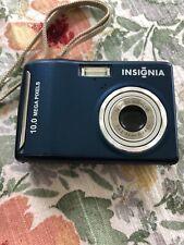 Insignia NS-DSC10B camera 10 MP Blue
