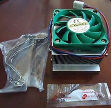 Intel Pentium 4 IV CPU Cooler Heatsink Fan + Thermal Paste Socket 478 Processor