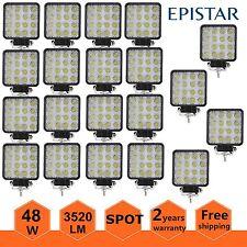 20X 48W SPOT LED Off road Work Light Lamp 12V 24V Car Boat Truck Driving UTE