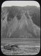 Glass Magic Lantern Slide GEOLOGY SURVEY NO10 C1890 PHOTO UK ?