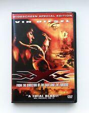 Xxx Dvd Action Movie 2002 Vin Diesel Widscreen Special Edition