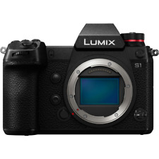 Panasonic Lumix DC-S1 Mirrorless Full Frame Digital Camera Body Only