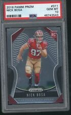 2019 Prizm NICK BOSA rookie RC card 49ers 543 PSA 10