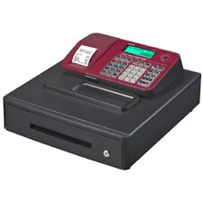 Cash Register Casio Se-s100 Red- Thermal Printer Department Programmable