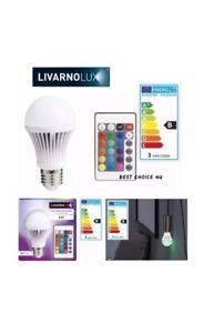 LIVARNO LUX® Remote Control LED Colour Addison Screw Bulb