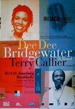 ROLF BENZ JAZZ NIGHTS - 2002 - Konzertplakat - Bridgewater - Callier - Poster