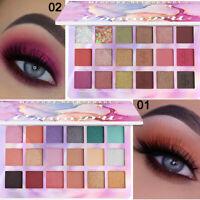 Pro 18 Colors Eyeshadow Palette Matte Powder Eye Shadow Makeup Shimmer Kit Set