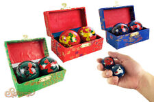 Boading Balls Chinese Health Exercise Stress Relief Chrome Massage Metal Balls