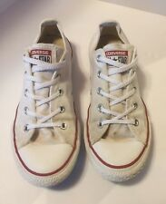 Converse All Star Chuck Taylor White Youth Size 3 Sneakers Low Top