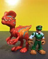Hasbro Playskool Heroes Jurassic World Dilophosaurus loose